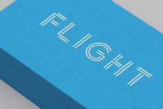 Flight by DIA #business #card #graphic #design #print