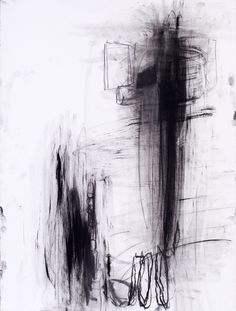 Untitledunknowncharcoal on paper30 x 22 #art #abstract