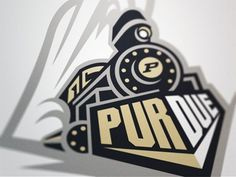 Dribbble - Boilermaker 2 by Fraser Davidson #train #logo #illustrtaion