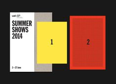 LCC Summer Shows Invite 3 #invite #print #brochure