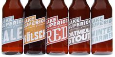 Lake Superior Brewing Concept #beer #packaging #design #label #type
