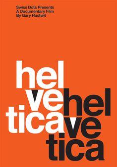 Helvetica Movie Poster via www.hustwit.com