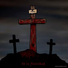 It is finished. #jesus #jesuschrist #goodfriday #easter