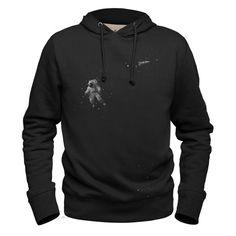 #astrok #gray #hoodie #sweatshirt #woodyallen #astronaut #space #universe #outerspace #spaceship