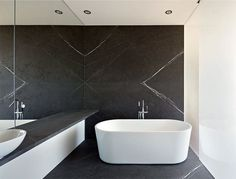 Open Plan House Filled with Light - #bath, #interior, #decor, home, bathroom