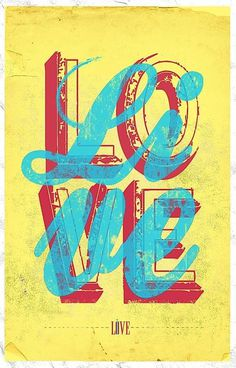 Love/Live #design #quality #typography
