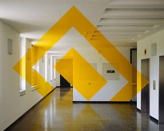 Anamorphic Illusions by Felice Varini | Inthralld
