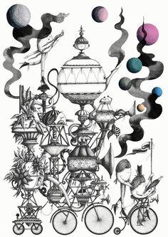 Baubauhaus. #illustration