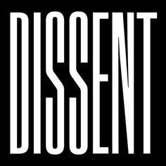 Dissentlogofeature #type #dissent #typography
