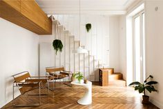 Modern Parisian Chic Apartment - InteriorZine
