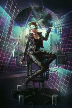ArtStation - Missing sequences, Laura Sava #rocker #girl