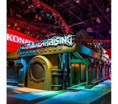 #25 - 25 Eye Catching Trade Show Stands - Metal Gear Rising
