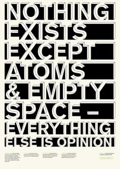 Buamai - esthétique. #existance #opinion #atoms #space