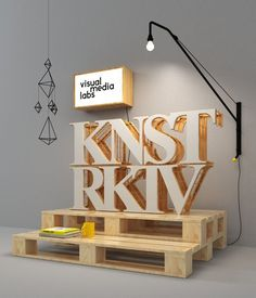 3D typography, wood, do it yourself #yourself #do #wood #it #3d #typography