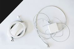 Fuse: Ultimate Charger Accessory - IPPINKA The Side Winder enables you to safely store and use your MacBook Charger without unraveling or damaging the cables in just six seconds.
