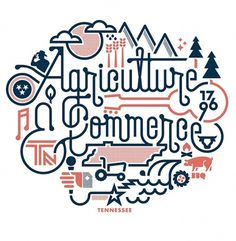 Matt Lehman Studio #tennessee #illustration #poster #typography