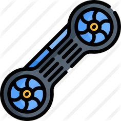 See more icon inspiration related to hoverboard, futuristic, Science fiction, skateboard, skater, skating, transportation, skate, electronics, transport and technology on Flaticon.
