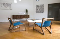 Inspiration The Amore Mio Low Chair and Coffee Table Modern