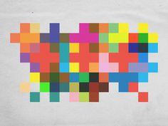 staymighty: channeling my inner rudolph de harak #color #pattern #geometric