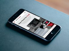 Audi Mobile Site #site #design #app #mobile #minimal #art #audi #car