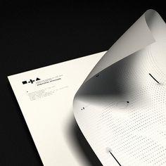 DLA on the Behance Network #stationary #design #graphic #borzk #identity #mrton