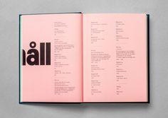 Immortal book design for rising communication star Erik Modig #graphic design #graphic #design #branding #colorful #colourful #typography #b