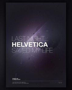 Tobias van Schneider - Portfolio 2011 #artwork #helvetica #design #graphic