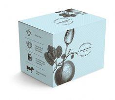 Cream Centre #packaging #botanical #cosmetics