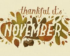 Mary Kate McDevitt #november #typography