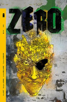 ZERO #4 Cover B, Christian Ward by helloMullerVariant cover design, graphics & colours for ZERO #4. Artwork by Christian Ward