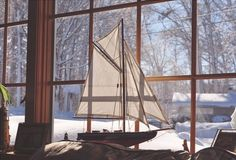Oh, Pioneer! #wood #ship #view #room