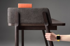 Ash Desk Furniture Design - Mindsparkle Mag Pavel Vetrov & Zegen Furniture designed Ash – a modern workplace, inspired by a visit to libraries, when it becomes necessary to stay in solitude. #interior #furniture #identity #branding #design #color #photography #graphic #design #gallery #blog #project #mindsparkle #mag #beautiful #portfolio #designer