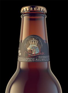 Kalusher beer on Behance