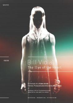 Ian Walsh Design #viola #bill #design #poster #gradiant