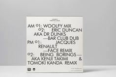 WOOLFY #record #vinyl #sleeve #typography