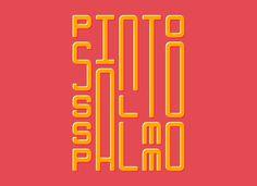 bossa typography - by felipe sabatini