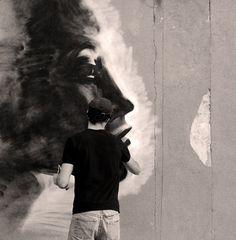 street art // Tetis   Flickr: partage de photos! #montreal #tetis #paint #art #street #spray