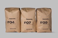 bag, brown bag, numbers, package