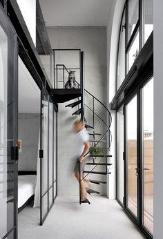 DIY-Housing in Amsterdam – Amstelloft by WE Architecten