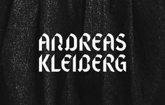 Andreas Kleiberg / Joakim Jansson #type #black&white #typography