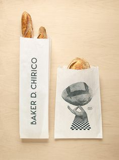Baker D. Chirico | Design Graphique #inspiration #baker #branding #packaging #design #identity