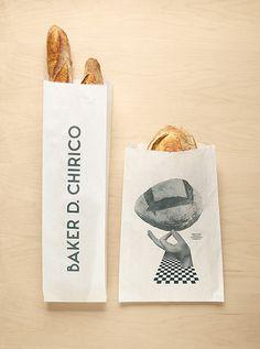 Baker D. Chirico | Design Graphique #inspiration #baker #branding #packaging #design #identity