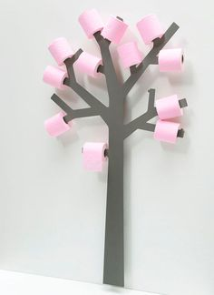 Toilet Paper Tree #interior #design
