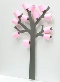 Toilet Paper Tree #interior #design