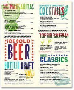 Pentagram #type #menu #restaurant