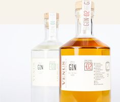 gin, bottle, simplicity, minimal, package, packaging