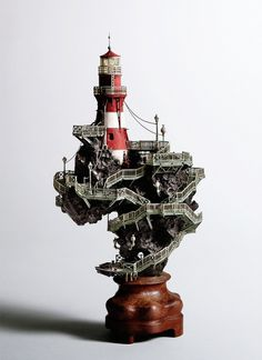 All sizes | TAKANORI AIBA: Sculpture | Flickr - Photo Sharing! #aiba #lighthous #art #takanori