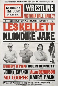 wrestling poster, hanley | Flickr - Photo Sharing! #graphicdesign #poster #typography