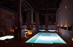 Aire Ancient Baths in New York #lifestyle