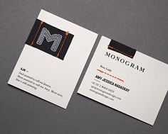 Lovely Stationery . Curating the very best of stationery design #identity #business card #monogram